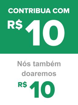 Contribua com R$ 10